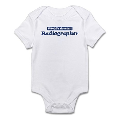 Worlds greatest Radiographer Infant Bodysuit