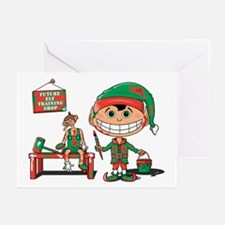 Christmas Elf Greeting Cards (Pk of 10)