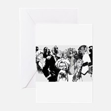 """""""Cast of Manchild"""" Greeting Cards (Pk of 10)"""