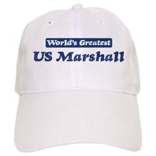 Worlds greatest US Marshall Baseball Cap