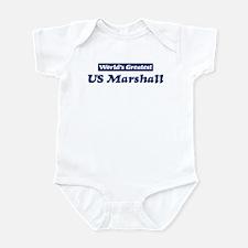 Worlds greatest US Marshall Infant Bodysuit