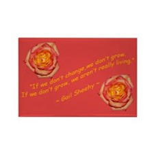 Change & Grow Orange Rectangle Magnet (100 pack)
