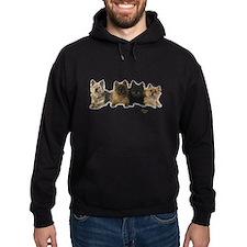 Cairn Terrier Friends Hoodie