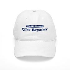 Worlds greatest Tire Repairer Baseball Cap