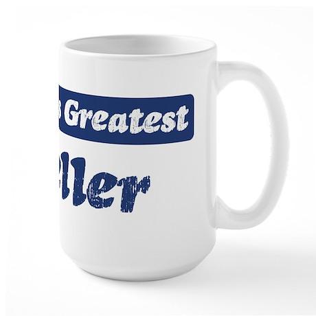 Worlds greatest Teller Large Mug