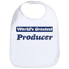 Worlds greatest Producer Bib