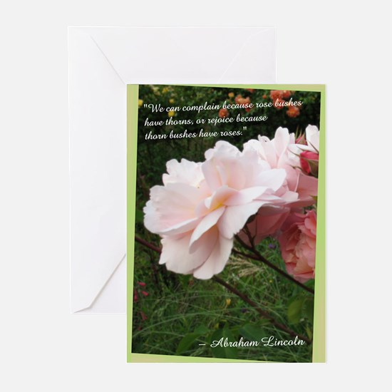 Rose Thorns Greeting Cards (Pk of 20)