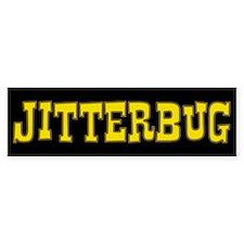 Jitterbug Bumper Bumper Sticker