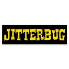 Jitterbug Bumper Car Sticker