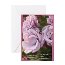 Emerson Rose Greeting Card
