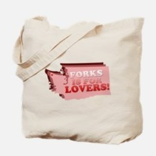 Forks is for Lovers (2) Tote Bag