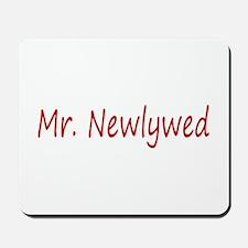 Mr. Newlywed Mousepad