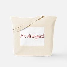 Mr. Newlywed Tote Bag