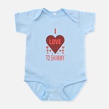 I Love to Shimmy Infant Bodysuit