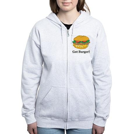 Got Burger Women's Zip Hoodie