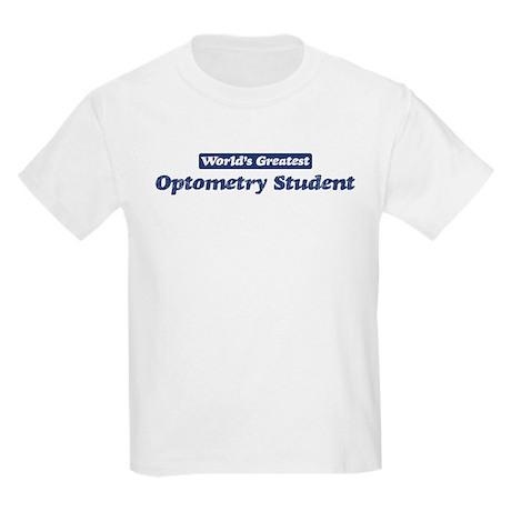 Worlds greatest Optometry Stu Kids Light T-Shirt
