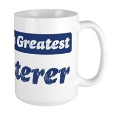 Worlds greatest Plasterer Coffee Mug