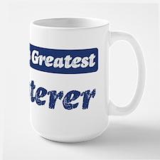 Worlds greatest Plasterer Mug