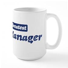 Worlds greatest Office Manage Mug