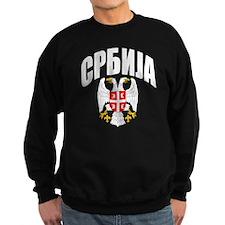 Serb Eagle Cyrillic Sweatshirt