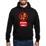 Staph Only Hoodie (dark)