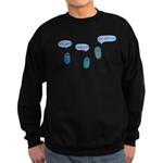 Proteus mirabilis Sweatshirt (dark)
