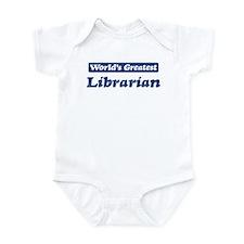Worlds greatest Librarian Infant Bodysuit