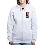 Skeleton Women's Zip Hoodie