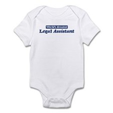 Worlds greatest Legal Assista Infant Bodysuit