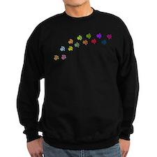 Paw Prints Sweater