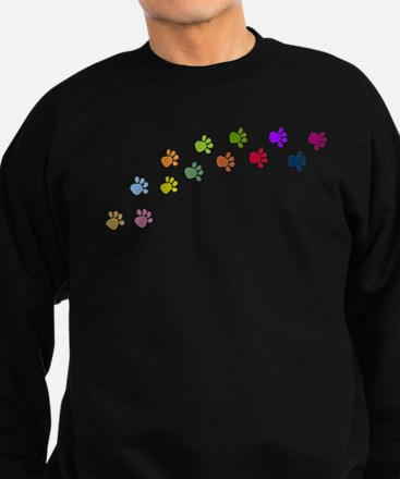 Paw Prints Sweatshirt (dark)