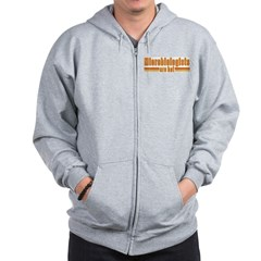 Microbiologists are Hot Zip Hoodie