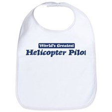 Worlds greatest Helicopter Pi Bib