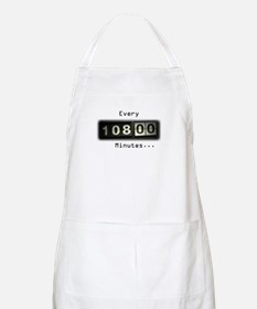 Every 108 Minutes BBQ Apron
