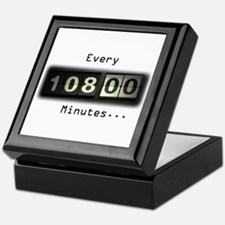 Every 108 Minutes Keepsake Box