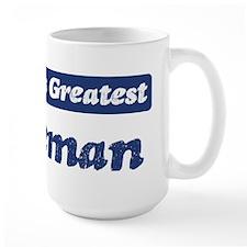 Worlds greatest Fireman Mug
