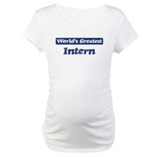 Worlds greatest Intern Shirt