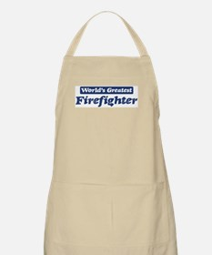 Worlds greatest Firefighter BBQ Apron
