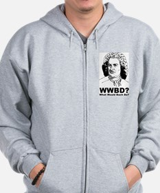 What Would Bach Do Zip Hoodie