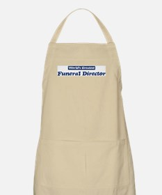 Worlds greatest Funeral Direc BBQ Apron