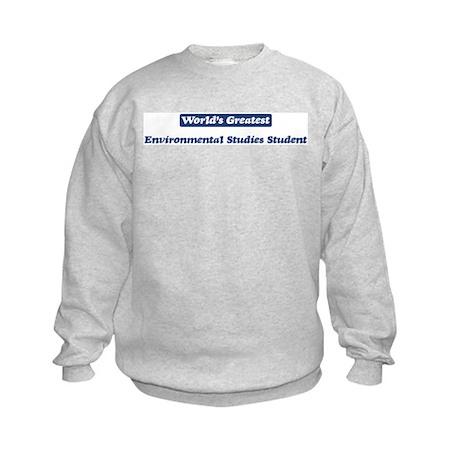 Worlds greatest Environmental Kids Sweatshirt