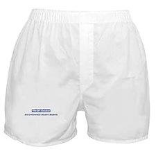 Worlds greatest Environmental Boxer Shorts