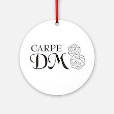 Carpe DM Ornament (Round)