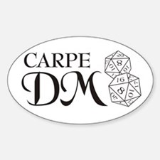 Carpe DM Sticker (Oval)