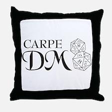 Carpe DM Throw Pillow