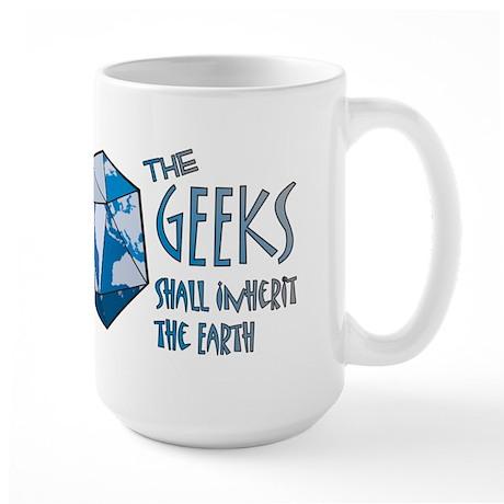 Geeks Inherit Large Mug