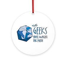 Geeks Inherit Ornament (Round)