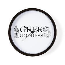 Geek Goddess Wall Clock