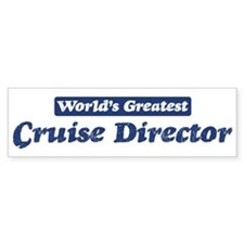 Worlds greatest Cruise Direct Bumper Bumper Sticker