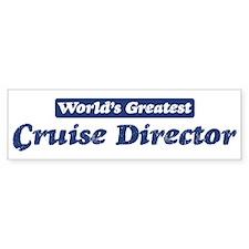 Worlds greatest Cruise Direct Bumper Sticker